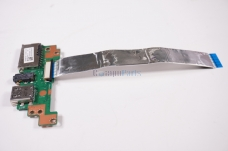 Asus Q551LN Laptop USB Card Reader Audio Port Board w// Cable 60NB0690-IO1040-210